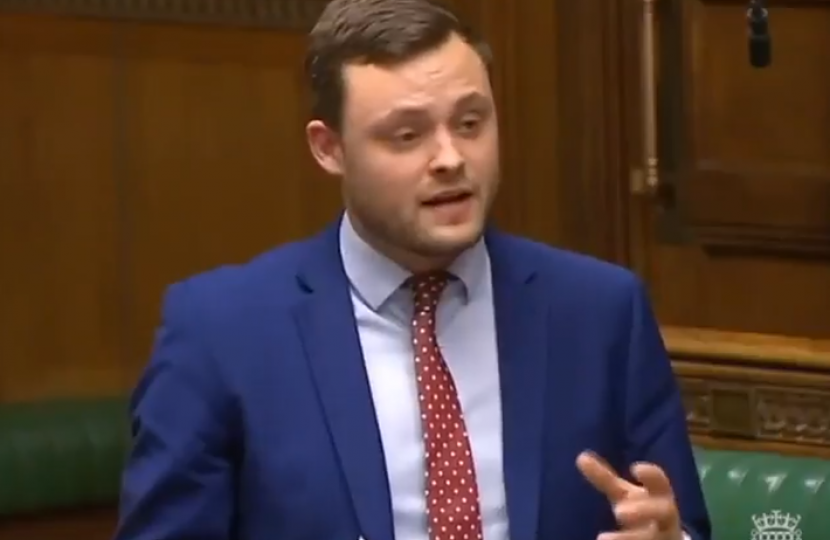 Ben Bradley MP speaking in the House of Commons